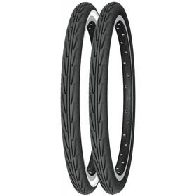 "Michelin City'J Rengas 24"" vaijeri, black/white"